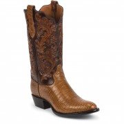 Tony Lama Brandy Nile Crocodile
