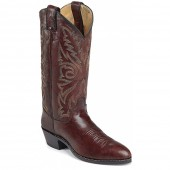 Justin Boots Dark Brown Marbled Deerlite
