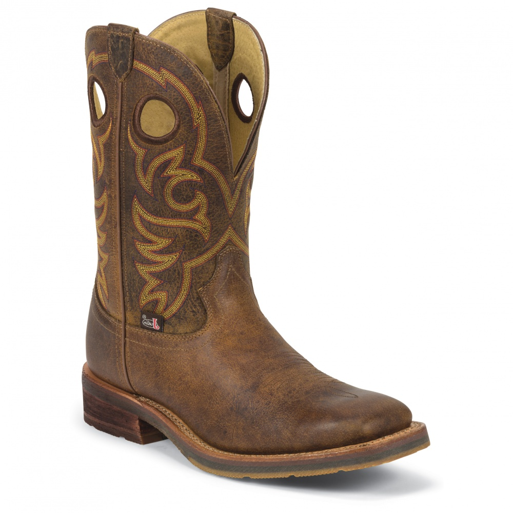 Justin Boots Rugged Tan