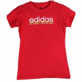 adidas SS Tee Shirt Just kickin it with my girls