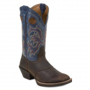 Justin Boots 12inch  Stampede Punchy Square Toe