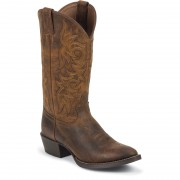 Justin Boots Rugged Tan Cow 13in