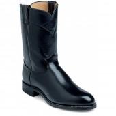Justin Boots Black Kipskin