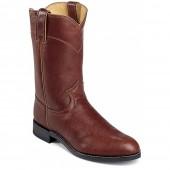 Justin Boots Chestnut Marbled Deerlite