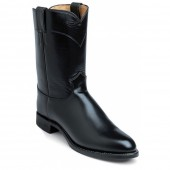 Justin Boots Black Melo-Veal