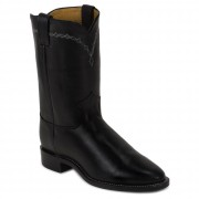 Justin Boots Royal Black Cowhide
