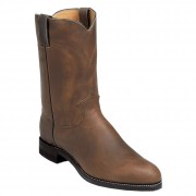Justin Boots Bay Apache Ropers 10in