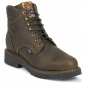 Justin Original Work Rugged Bay Gaucho 6in