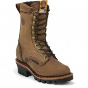 Justin Original Work Rugged Aged Bark Gaucho Waterproof