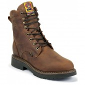 Justin Original Work Rugged Aged Bark Gaucho Waterproof 8in