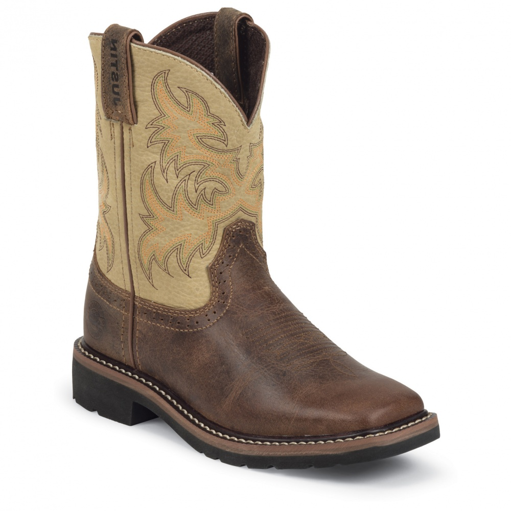 Justin Boots Waxy Brown
