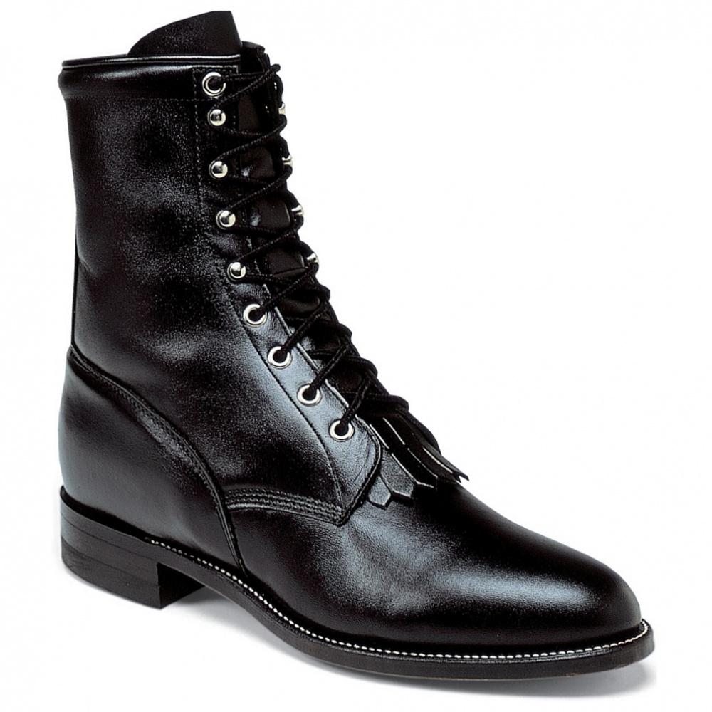 Justin Boots Black Kiddie