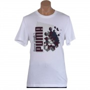 Puma Fractured Graphic Tee