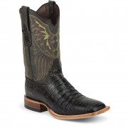 Tony Lama Black Vintage Belly Caiman