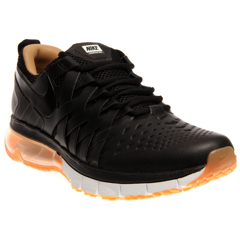 nike fingertrap max premium black training shoes and free. Black Bedroom Furniture Sets. Home Design Ideas