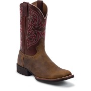 Justin Boots Rugged Tan Cow 11in