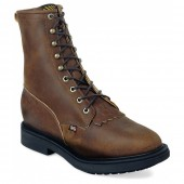 Justin Original Work Aged Bark 8in Safety Toe