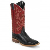Justin Boots Black Full Quill Ostrich