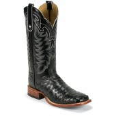 Tony Lama Black Full Quill Ostrich 13in