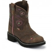 Justin Boots Barnwood Brown Buffalo