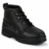 Justin Boots Black Cowhide Chukka