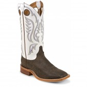 Justin Boots Chocolate Bisonte