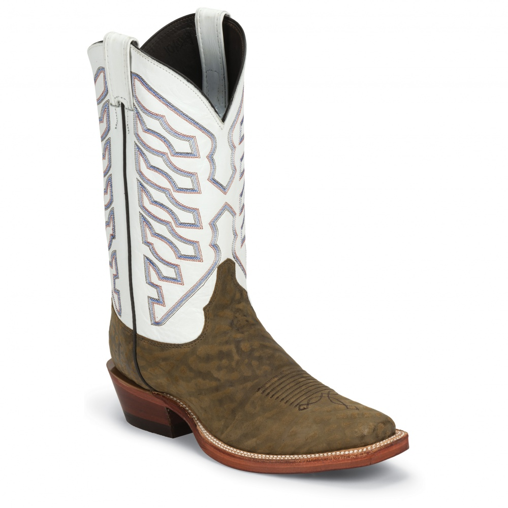Justin Boots Tan Valley Cowhide
