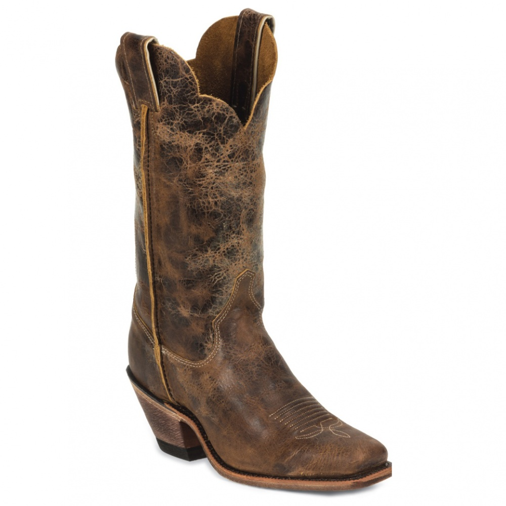 Justin Boots Tan Road