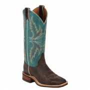 Justin Boots Chocolate Puma Cowhide