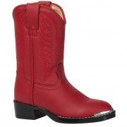 Lil Durango 8in Red N' Chrome Toddler/Youth