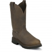 Justin Original Work Rugged Bay Gaucho Steel Toe