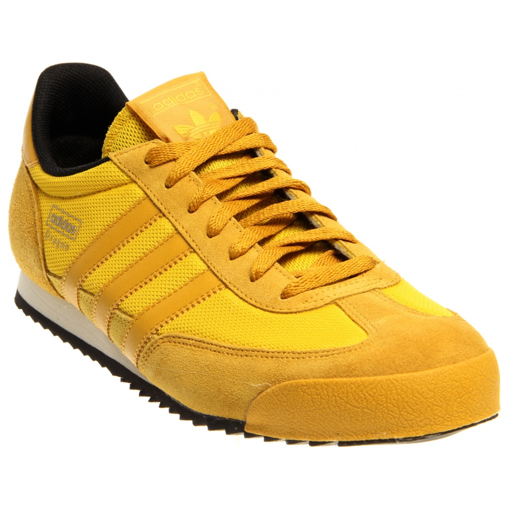adidas dragon jaune