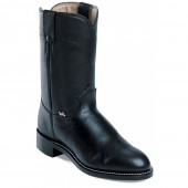 Justin Boots Black Cow
