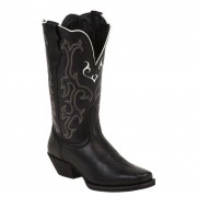 Justin Boots Black Deercow