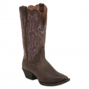 Justin Boots Chocolate Puma Cow
