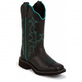 Justin Boots Gypsy Collection Black Crazy Horse