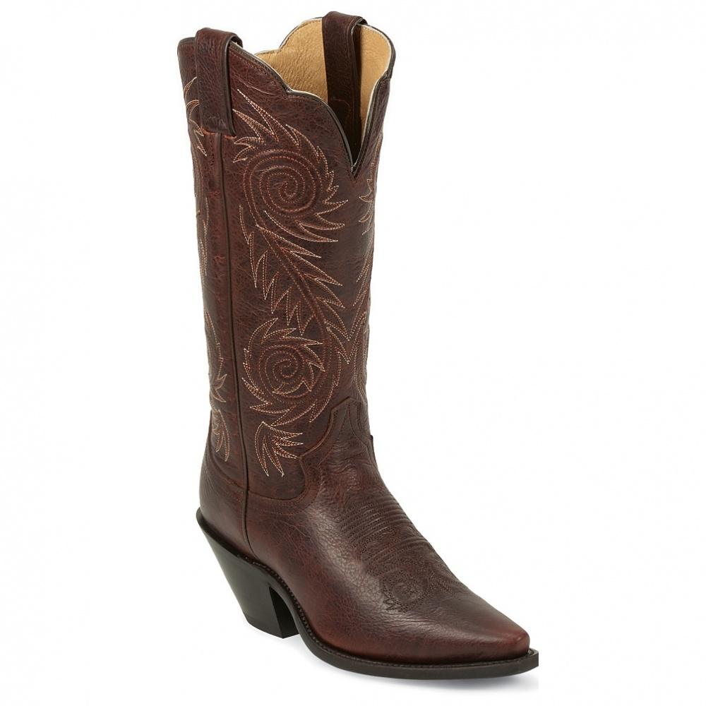 Justin Boots Cognac Damiana
