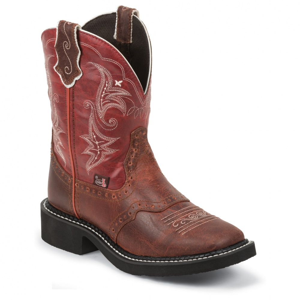 Justin Boots Redwood Buffalo