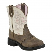 Justin Boots Gypsy Barnwood Brown Cowhide