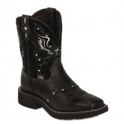 Justin Boots Gypsy Collection Black Deercow
