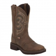 Justin Boots Gypsy Collection Aged Bark W/Perfed Saddle