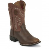 Tony Lama Dark Tan Sequoia (Toddler / Youth)