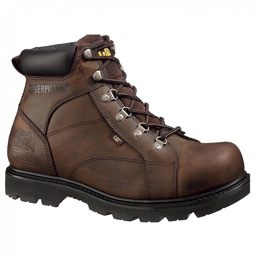 CAT Footwear Mortar 6in Steel Toe Work Boot