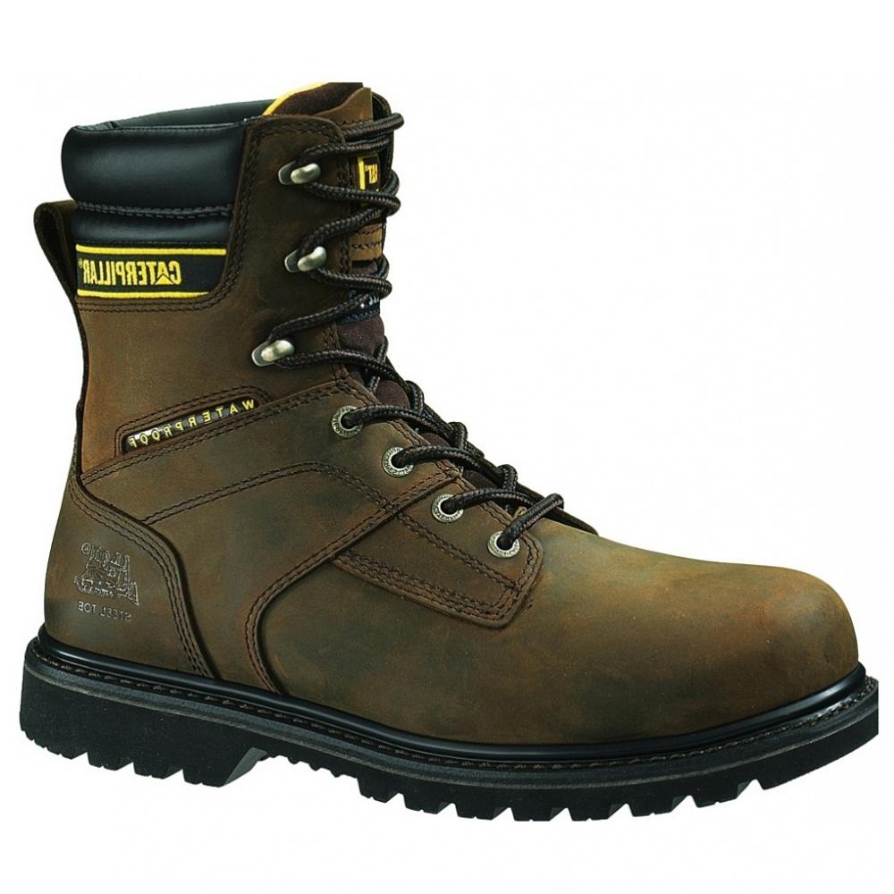 Cat Footwear Salvo 8inch Waterproof Steel Toe