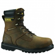 Cat Footwear Salvo 8inch Waterproof Steel Toe