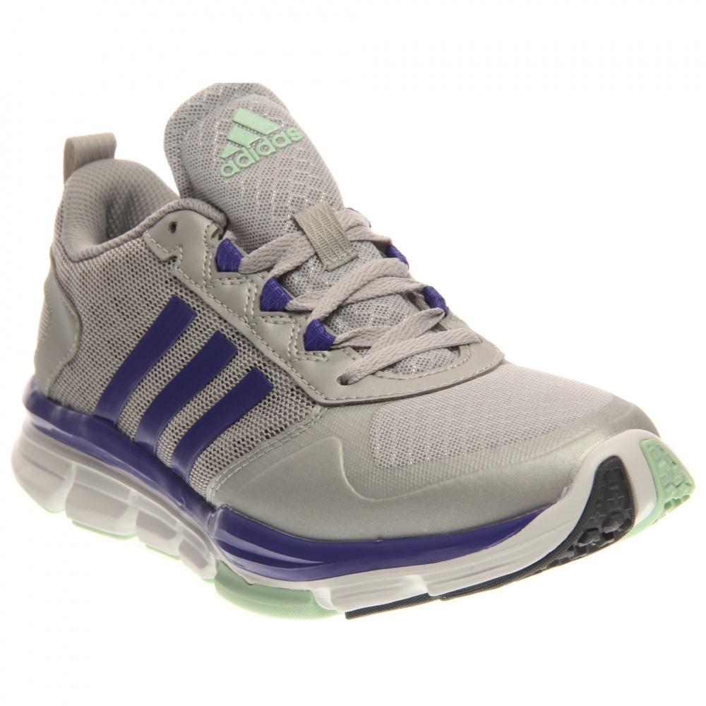 Image of adidas - Speed Trainer 2 (Silver Metallic/Semi Night Flash/Frozen Green) Women's Shoes