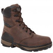Rocky 8in Forge Steel Toe Waterproof