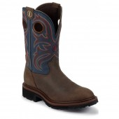 Tony Lama Oak Crazy Horse Buffalo Pull-On