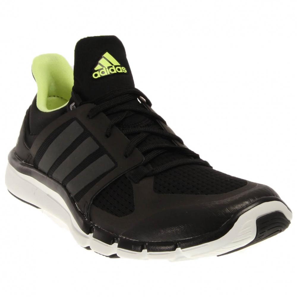 Image of adidas - Adipure 360.3 (Black/Night Metallic/Frozen Yellow) Women's Shoes