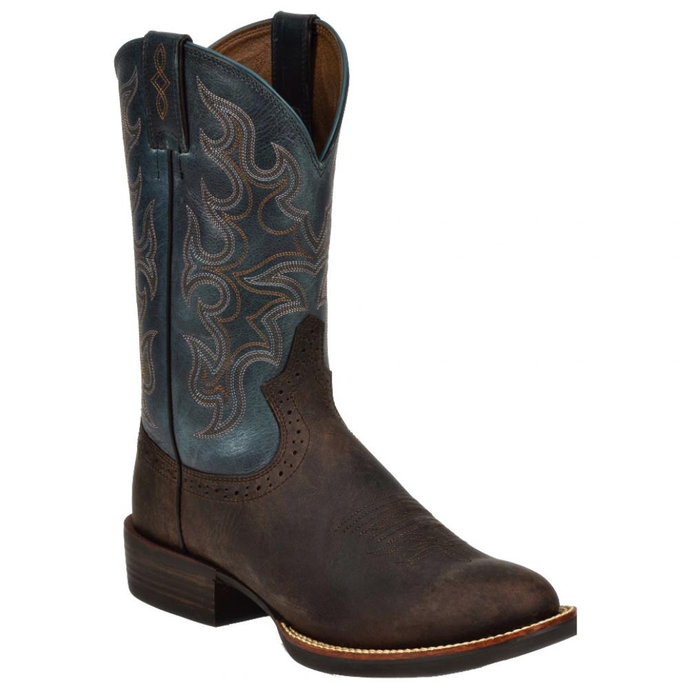 Justin Boots Choco Puma Buffalo